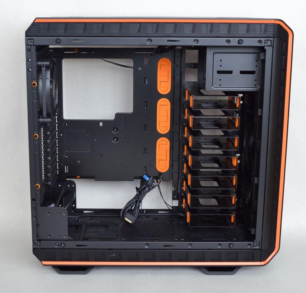 Open front case
