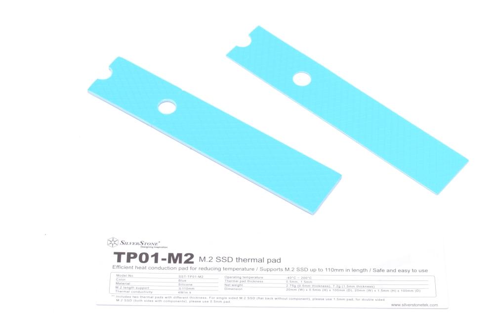 Monberg dk - SilverStone TP01-M2 Cooling Pad