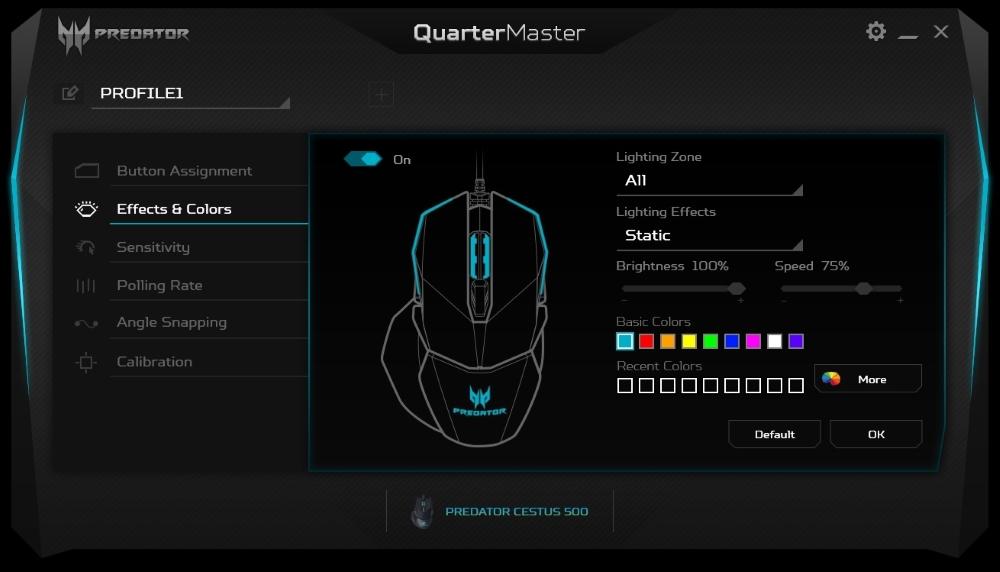 Monberg dk - ACER Predator Cestus 500 Mouse