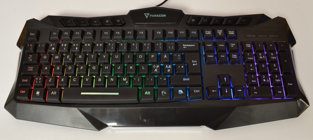 Paracon RIOT Gaming Keyboard