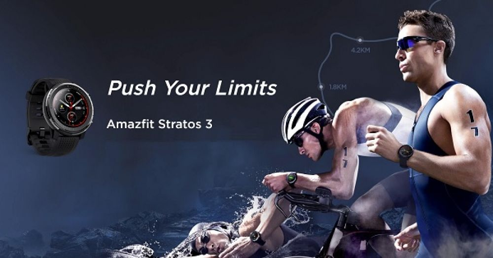 Amazfit Stratos 3 Fitness Watch