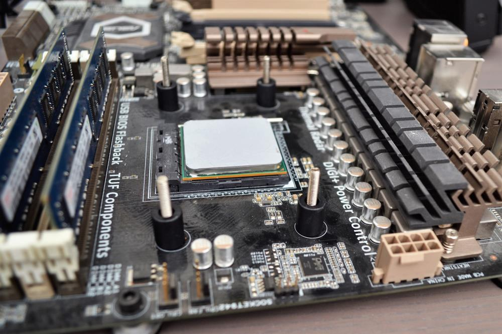 SilverStone IceGem 280 - Mounting Motherboard