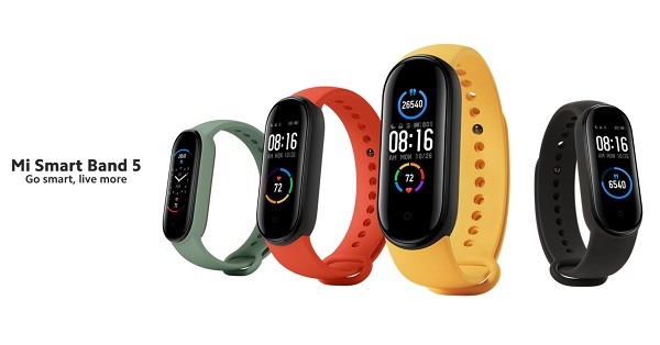 Xiaomi Mi Smart Band 5 Watch